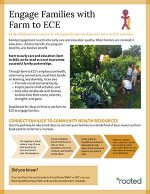 Thumbnail of Engage Families with Farm to ECE publication