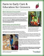 Thumbnail of Farm to ECE for Growers publlication
