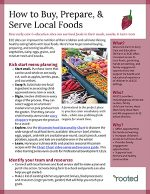 How to Buy, Prepare, and Serve Local Food 1